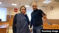Татьяна Усманова и Андрей Пивоваров