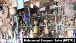 عتیقه فروشی در ولایت هرات