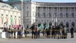 В Вене чеченцы протестовали против публичных унижений критиков Кадырова