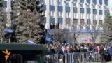 Pro-Russia Protesters Seize The SBU's Headquarters In Luhansk