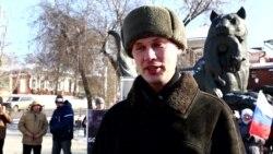 Марш памяти Бориса Немцова в Иркутске