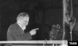 Михаил Калинин, 1938 год