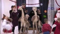 """""""Raze de soare"""". Cum au sărbătorit Crăciunul copiii cu Sindromul Down"""