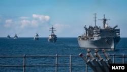 NATO brodovi na vježbi u Baltičkom moru, 8. juni, 2020.