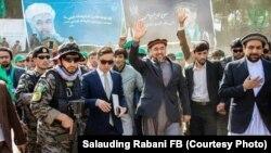صلاح الدین ربانی رهبر حزب جمعیت اسلامی افغانستان