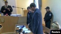 Во время оглашение приговора