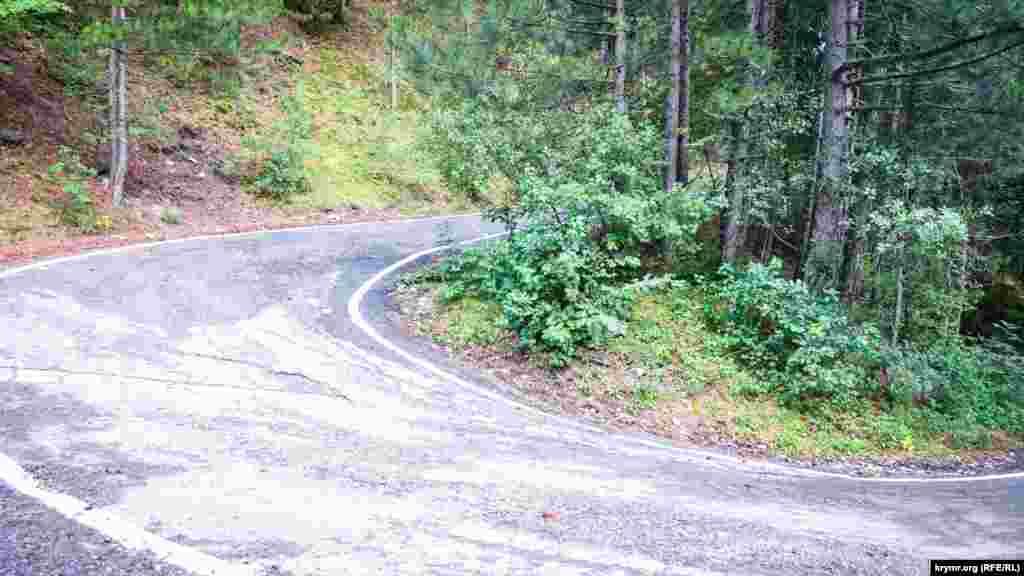 Дорога, которая ведет к ущелью Уч-Кош
