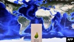 Эмблема Парижской конференции по климату