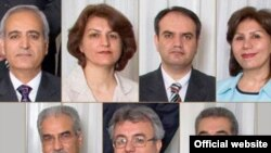 The group of seven Baha'is imprisoned since spring 2008.