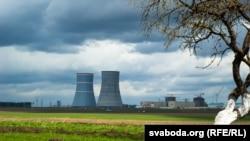 """АЭС в Беларуси по проекту компании """"Росатом""""."""