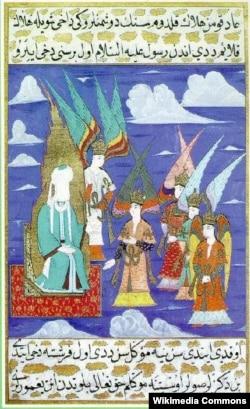 Həzrəti Məhəmməd və 4 xəlifə