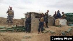 Військові іракської армії поблизу Фалуджі, провінція Анбар