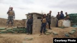 قوات أمن عراقية قرب الفلوجة