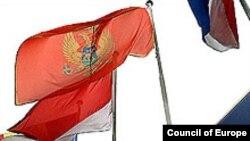 Zastava Crne Gore u Briselu