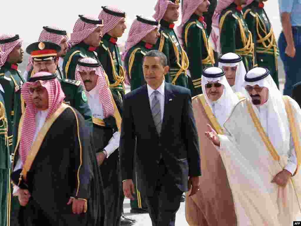 Saudijska Arabija - Svečani doček u Rijadu