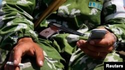 Бойовик угруповання «ДНР». Архівне фото