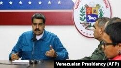 Ніколас Мадуро і члени його уряду
