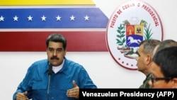 نیکولاس مادورورئیس جمهور ونزوئلا