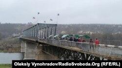 Міст у Станиці Луганській, 20 листопада 2019 року