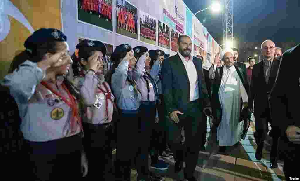 علی یونسی دستیار اجرایی رئیس جمهور در این مراسم حضور داشت.