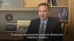 Я завжди підтримував надання оборонних озброєнь Україні – Карпентер