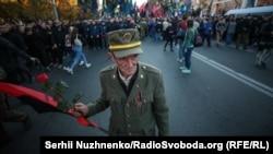 Марш із нагоди 76-ї річниці заснування Української повстанської армії (УПА), Київ, 14 жовтня 2018 року