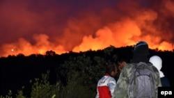 Zjarri në Llushticë, Mali i Zi