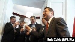 Otvaranje predstavništva Privredne komore Srbije u Zagrebu, 18. travnja 2012.