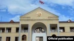 Լեռնային Ղարաբաղի կառավարության շենքը Ստեփանակերտում