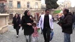 İran Azərbaycanından gələn turistlər: 'Tiflis burdan ucuzdur'