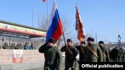 Շքերթ Գյումրիում տեղակայված ՌԴ 201-րդ ռազմակայանի տարածքում, արխիվ:
