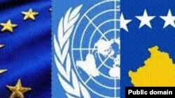 Flamuri i BE-së, i OKB-së dhe ai i Kosovës