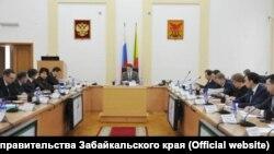 Заседание правительства Забайкальского края