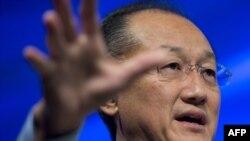 Глава Всемирного банка Джим Ен Ким. Вашингтон, 9 октября 2013 года.