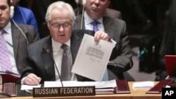 Ініціатором засідання став посол Росії в ООН Віталій Чуркін