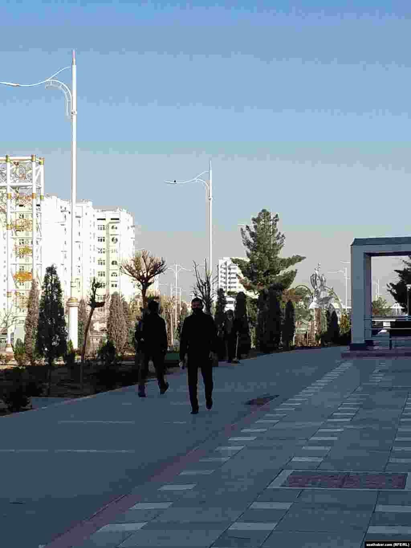 Улицы Ашхабада. Март, 2021 г.