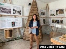"""Architecta Claudia Apostol, fondatoarea mișcării """"Adoptă o casă în Roșia Montană"""""""