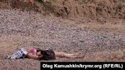 Минулого літа на кримських пляжах було небагато російських туристів