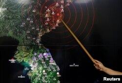 کره شمالی در سپتامبر ۲۰۱۶ پنجمین آزمایش نظامی هستهای خود را انجام داد