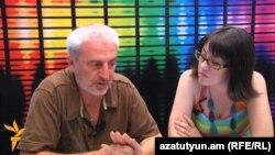 Արամ Մանուկյանը Ֆեյսբուք ասուլիսի ընթացքում, 29 հունիսի, 2012