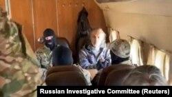 Arestarea lui Serghei Torop cunoscut ca Vissarion, în regiunea Krasnoiarsk , 22 septembrie 2020