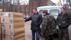 Волонтери з Чехії доправили гуманітарну допомогу для поранених бійців у Дніпропетровську