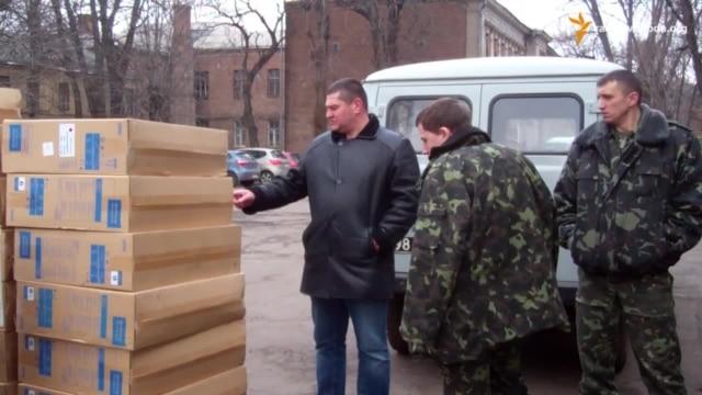 Волонтери з Чехії доправили гуманітарну допомогу для поранен...