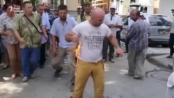Крымский татарин поджег себя в Крыму в знак протеста