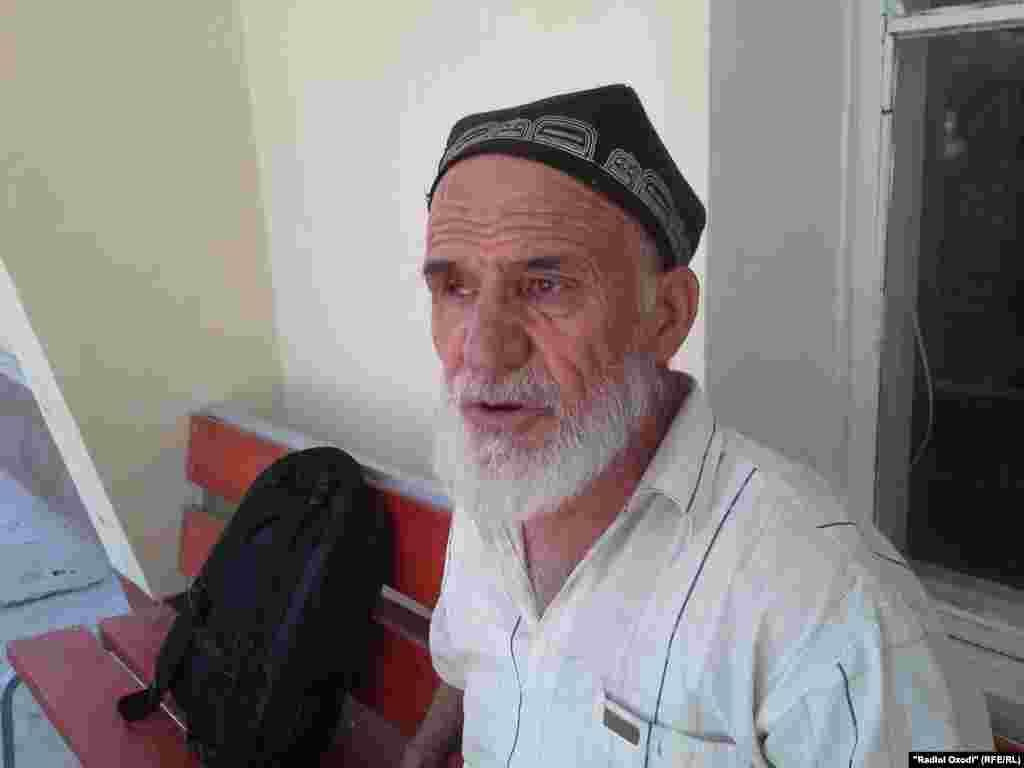 Джунайдулло Хомидов, отец Низомиддина не верит, что в смерти сына виновен лишь дежурный отделения