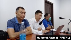 Равшан Жээнбеков сот залында. 2021-жылдын 5-августу.