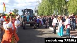 «Царыца» на трактары