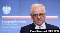 یاکسک چاپوتویچ وزیر امور خارجه لهستان