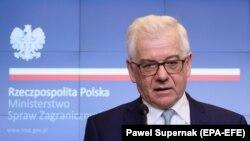 Польша ташқи ишлар вазири Яцек Чапутович.