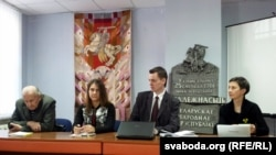 Георгій Лепін, Ганна Красуліна, Дзяніс Садоўскі, Тацяна Новікава
